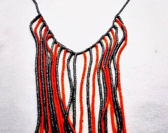 Craft Collar Beaded Necklace - 'TENDERNES'