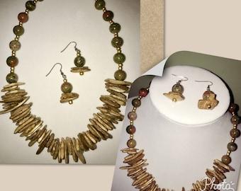 Wood Chip Jewelry