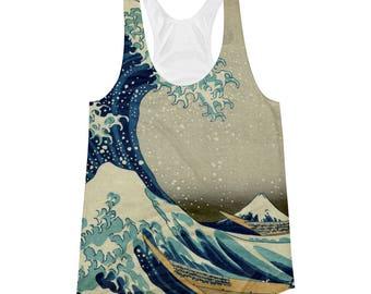 On Sale! Great Wave of Kanagawa, Hokusai - Women's Racerback Tank