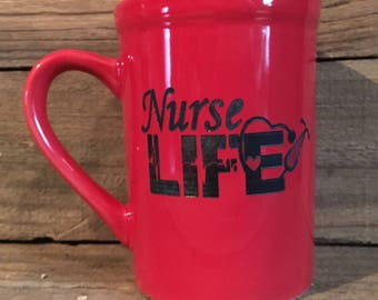 16 oz. Nurse Life Ceramic Mug