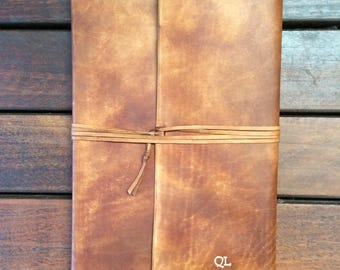 Large Wrap Around Leather Journal/Sketchbook