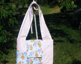 """diaper bag changing pad Nomad collection """"Bunny"""""""