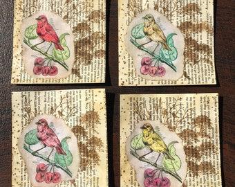 4 Vintage Pockets Junk Journal A15