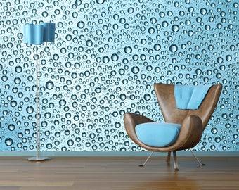 Removable Wallpaper Mural Peel & Stick Water Drop