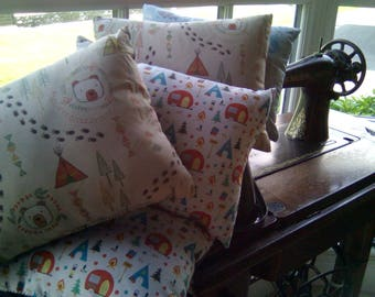 Small cushion caravan camper/little bear/mermaid