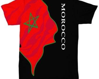 Morocco Flag Shirt