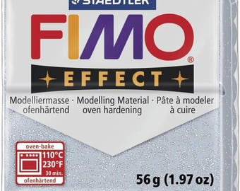 Fimo 57 g silver glitter Effect 8020.812 - polymer clay