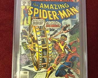 Amazing spiderman #183 CGC 8.5 graded!!