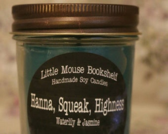 Hanna, Squeak, Highness - 8oz Soy Candle - The Illuminae Files