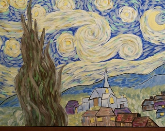 Starry Night- inspired by Van Gogh