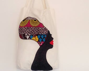 African fabric bag,Ankara everyday bag,African bag,gift for her,patch bag,Women's hand bag