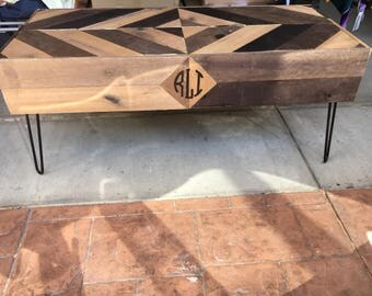 Reclaimed Bench (Optional Monogram or Initials)