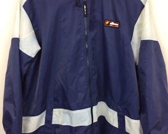 Vintage 90s Ellese Italia Windbreaker Jacket Pullover Size XL