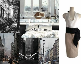 Kiki de Mademoiselle Madison Homedress/Apron/Robe