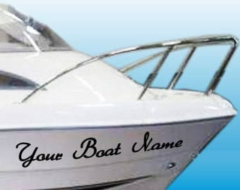 Kayak Vinyl Decal Sticker Kayak Name Stickers Custom Boat - Custom vinyl stickers for boats