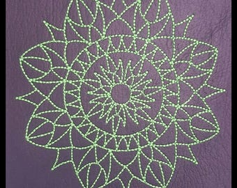"""Embroidery File """"Solar Flare"""" (Hoop 4"""" x 4"""")"""