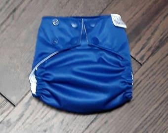 Royal blue pocket diaper
