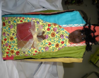 Green Doll Desgin  Gift Bag