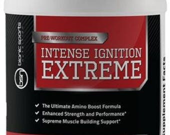 ALL IN ONE Muscle Building Supplements - Intense Ignition Extreme Pre Workout