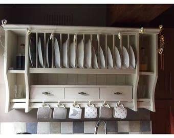 The lottie bespoke plate rack
