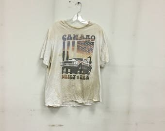 Discoloured camaro tee