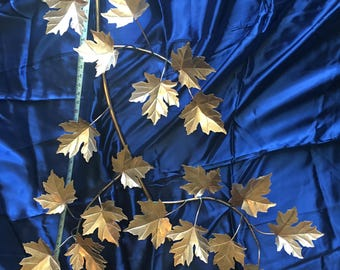 "43"" Solid Copper Maple Leaf Spray"