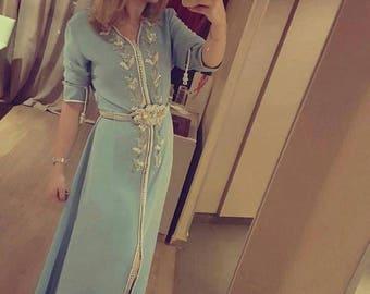 Moroccan kaftan dress made to order Bride caftan and bridesmaid kaftan dresses