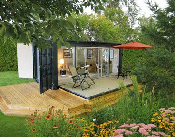 20 ft shipping container home or office Home run architecture