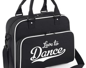 iLeisure Girls Love to Dance Dance/Kit Bag.