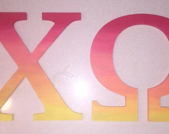Chi Omega Letters