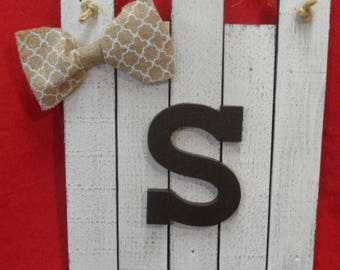 Wall Hanging Initial