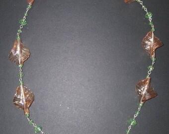 Glass leafs