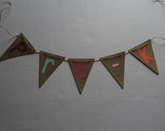 Grade Level Banner - Fast delivery