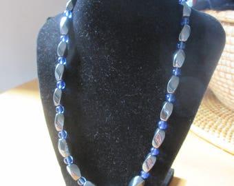 Vintage - Semi-Precious Stone Beaded Necklace