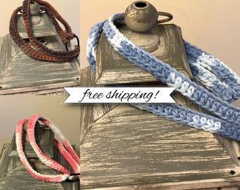 Double Band Crochet Headband