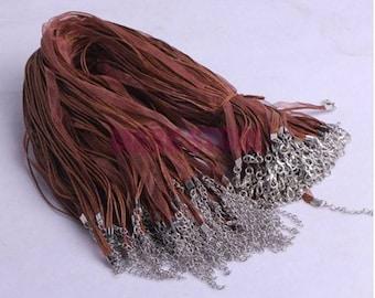 Brown Ribbon Cords