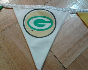 NFL Green Bay Packers Bunting Flag