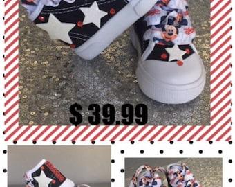 Mickey Custom Shoes*Mickey*Mickey Sneakers*Mickey  Kicks*Mickey High Tops*Mickey Inspired*Mickey Chucks* Mickey Bday*Mickey Birthday Custom*