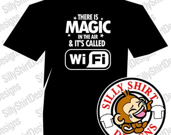 Funny Magic WiFi Shirt