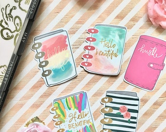 Card Stock happy planner collection die cut
