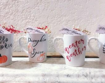 Fall Coffee Mugs