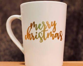 Merry Christmas Mug, Holiday Mug, Christmas Cup, Christmas Mug, Holiday Cup, Christmas Coffee Cup, Christmas Holiday Mug,