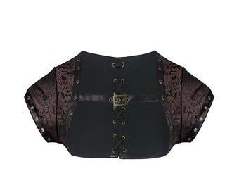 Steampunk Bolero Jacket - Renaissance Costume - Steampunk Costume - Pirate Costume - Cosplay Costume - Gothic Bolero Jacket - Corset Jacket