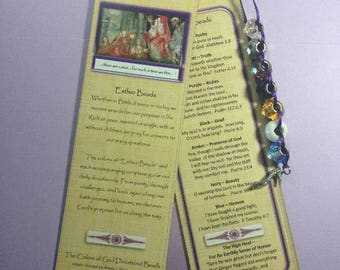 Bookmark - Esther Beads Devotional Beads (c)