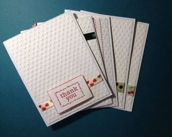 Greeting Card Set - Thank You - Variety of Ribbons