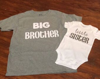 BIG and little sibling shirts
