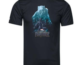 Marvel Black Panther T Shirt Wakandas Finest Shirt Youth Holloway Polyester T-Shirt