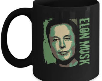 Green Elon Mug - Gift