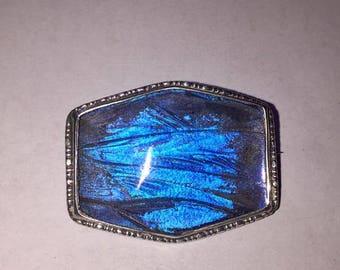 Vintage butterfly wing brooch