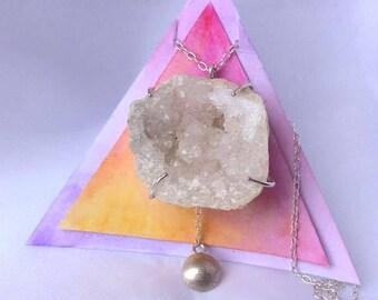 Bespoke Geode Necklace